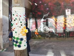 tricot pour la paix, activisme