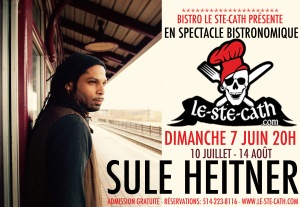 Sule Heitner souper spectacle blues folk show event la voix