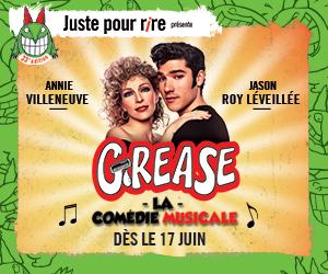 grease théatre St-Denis juste pour rire annie villeneuve comédie musicale