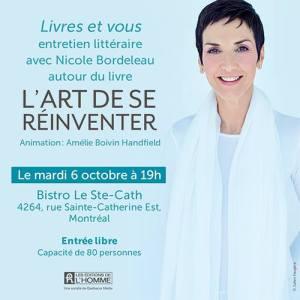 Nicole Bordeleau Amélie Boivin-handfield écriture auteur
