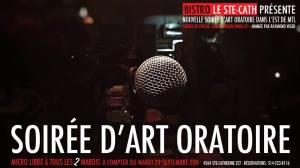 art oratoire open mic micro ouvert littérature poésie