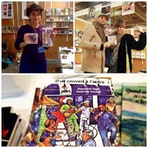 Angélique Duruisseau, Andréanne Martin, B.U, salon du livre de montréal