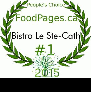 peoples choice 2015 choix du public restaurant bistro montréal où manger quoi voir