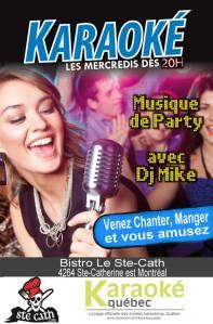 karaoké musique de party DJ Mike Karaoke Quebec chanter est montréal