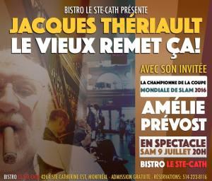 Jacques Thériault Amélie Prévost coupe mondiale slam