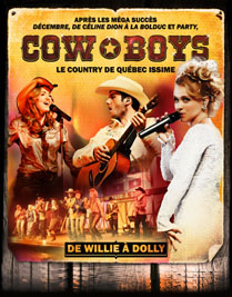 cowboys spectacle musique country western québecissime