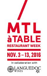 MTL à Table semaine des restaurants où aller bonne bouffe