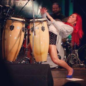 Élizabeth Blouin-Brathwaite percussions spectacle