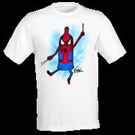 T-shirt sexualité Spider condom