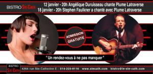 Plume Latraverse, Stephen Faulkner, Angélique Duruisseau