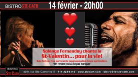 La Saint-Valentin, souper spectacle avec Solange Fernandoy et Sulé Heitner