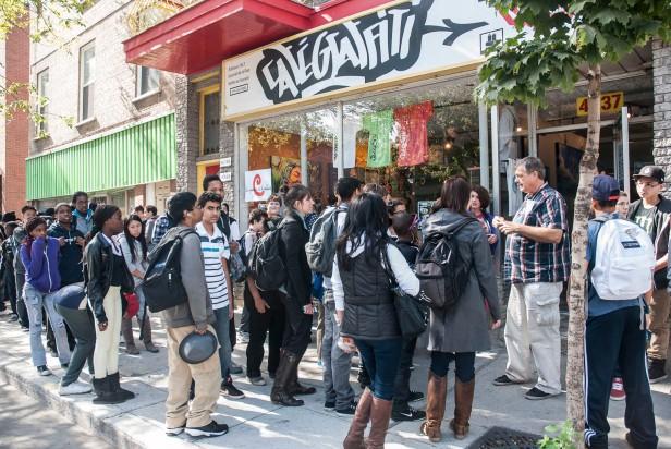 visite guidée graffiti street art urbain journees de la culture 2012 hiphop