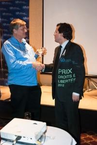 ministre justice bertrand st-arnaud prix droits libertés commission droit de la personne jeunesse