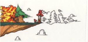 ruks graffiti illustration jonathan cormier t-shirt affiche cartes anniversaires