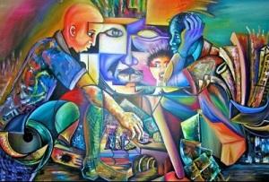 reconstruction patrick lafontant exposition vernissage haïti