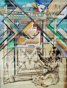 art amérindien culture navajo autochtone artiste indien