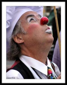 clown dezo jean-pierre desaulniers cirque art rue fête foraine