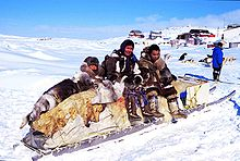 inuit grand nord saluait