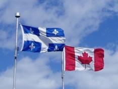 Drapeau-Canada-Quebec bloc québécois pancanadien confédération