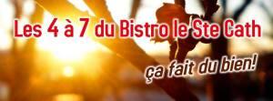 les 5 à 7 au Bistro le Ste-Cath restaurant est de montréal manger hochelaga-Maisonneuve
