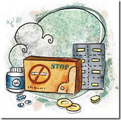 medicament-arret-fumer-timbre-nicotine-gomme-tabac-cigarette