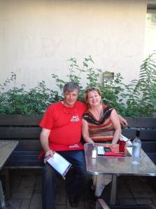 Carole Poirier Hochelaga-Maisonneuve Bistro le Ste-Cath restaurant est montréal