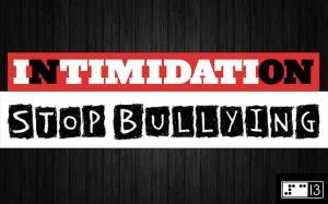 intimidation stop bullying tapage jeunes violence école prévention