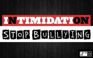 intimidation stop bullying tapage jeunes violence école prévention