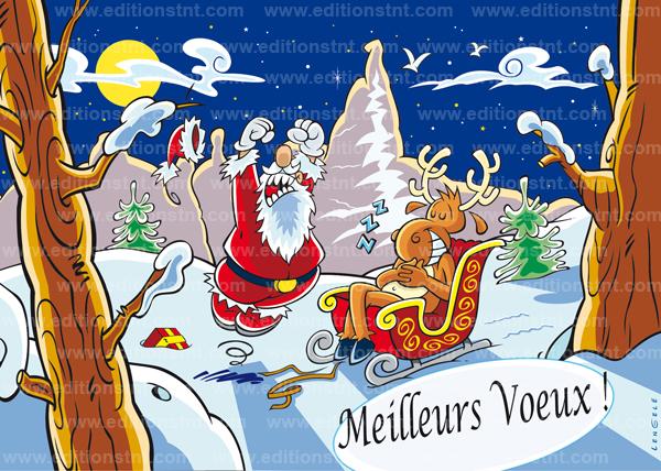 Cartes de Noël et bandes dessinées | L'actualité sociale et