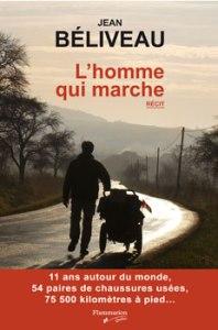 Jean Béliveau homme marche marcheur livre